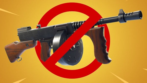 Epic Games убрали Drum Gun из нового обновления Fortnite