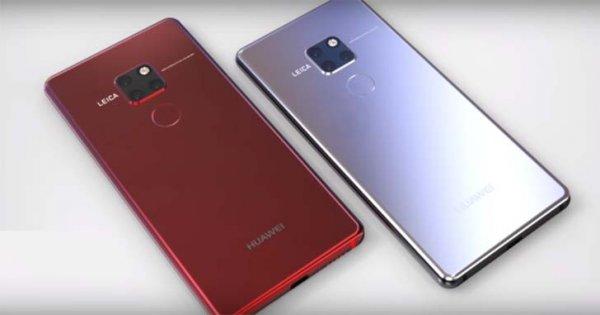 В Сеть слили фото чехлов Huawei Mate 20 всей серии