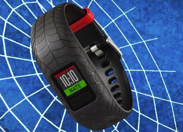 Marvel и Garmin создали детский фитнес-браслет в стиле Человека-паука