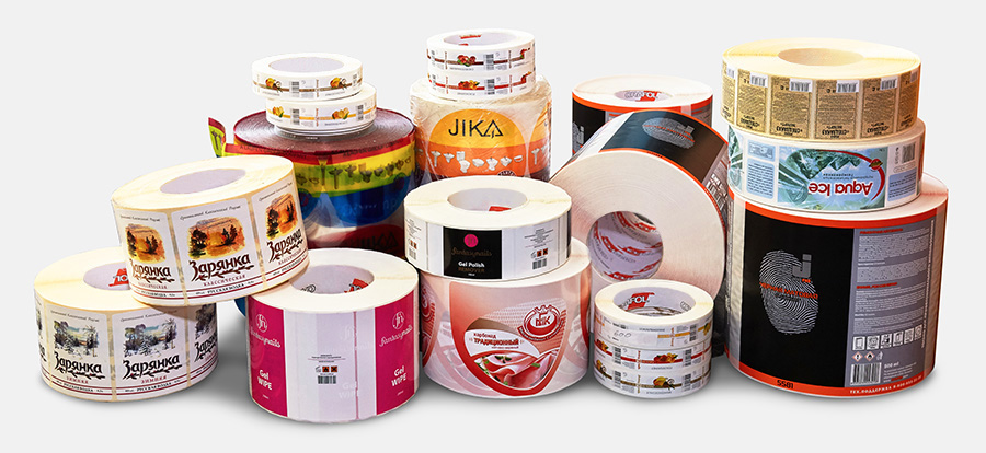 Самоклеющиеся этикетки для вашей продукции
