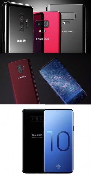 В сети появились рендеры нового смартфона от Samsung