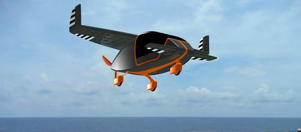 Российские ученые создали прототип летающего электротакси