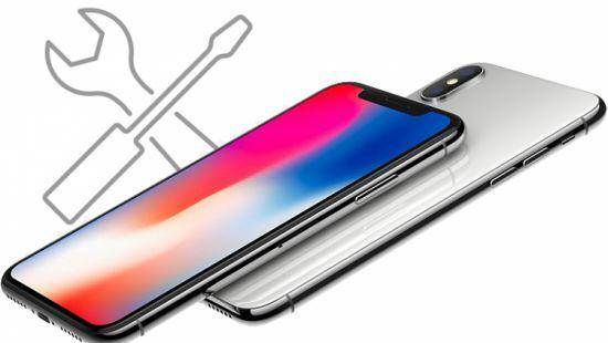 Ремонт iPhone X – замена стекла