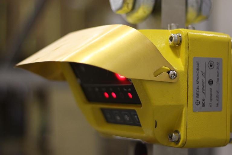 Устройство механических и электронных крановых весов