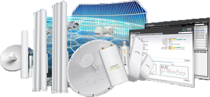 Надежное сетевое оборудование от UBIQUITI