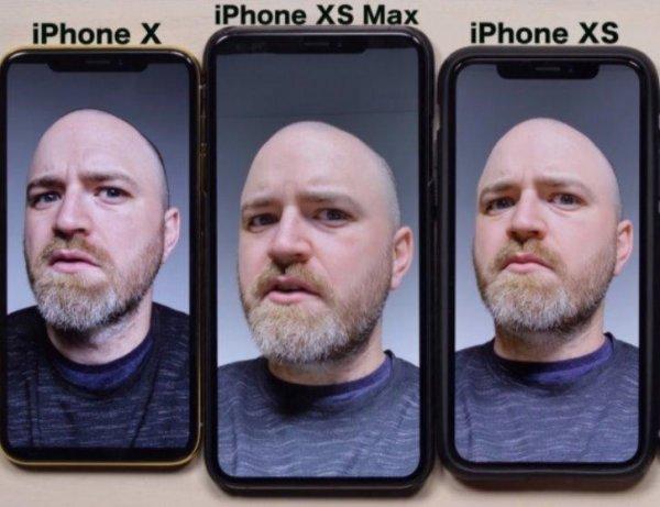 Пользователи обнаружили способность фронтальной камеры iPhone сглаживать морщины
