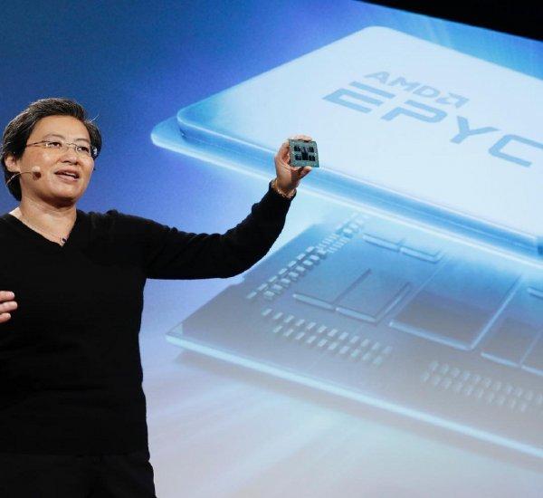 AMD показала первый в мире 7-нм графический процессор