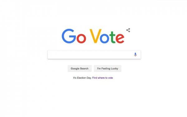 Google отправляет людей на выборы