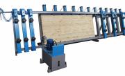 Прессы для склеивания бруса от различных производителей
