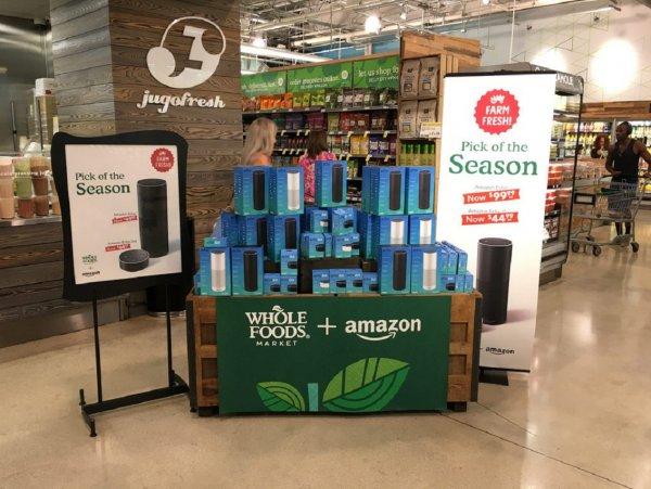 Amazon откроет «умные» гипермаркеты