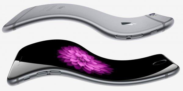 Apple запатентовала модель гнущегося смартфона