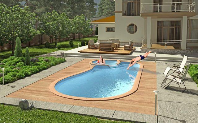 Заказать установку композитного бассейна от Stroy-Bassein
