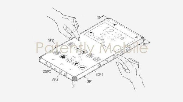 Компания Samsung выпустит новый смартфон с сенсорным чехлом