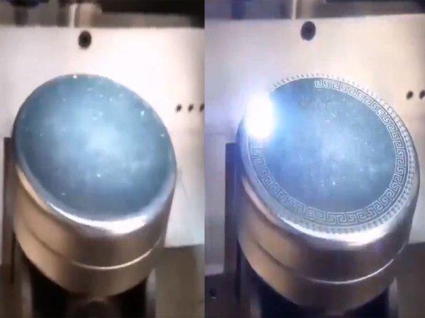 «Выпускники Хогвартса»: Японцы изобрели гравер, наносящий сложный узор за секунды