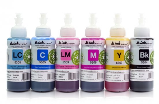 Брендовые чернила для струйных принтеров и МФУ