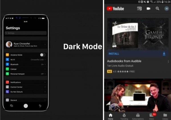 Составлен ТОП-5 приложений на iOS 13, которые получат тёмную тему