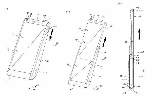 Не понравился - скомкай и выкинь: Samsung запатентовала ультрагибкий смартфон