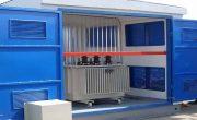 Ворота для трансформаторных подстанций