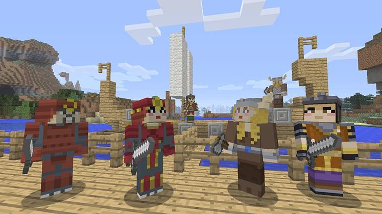 Новые скины для Minecraft