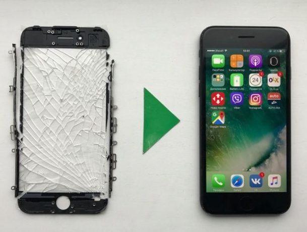Большой выбор сенсорных экранов для телефонов