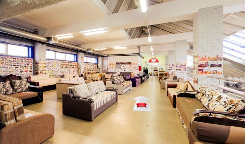 Магазин мебели с шикарным ассортиментом