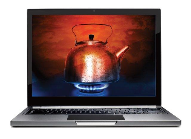 Что делать, если греется ноутбук?
