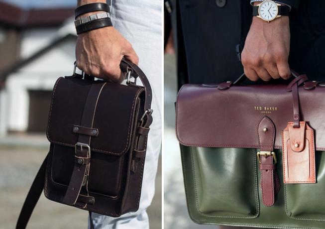 Практичные, стильные и функциональные мужские сумки