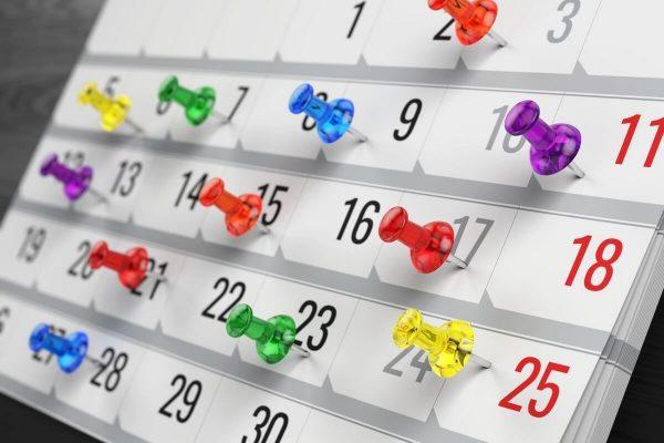 Календарь праздников на целый год
