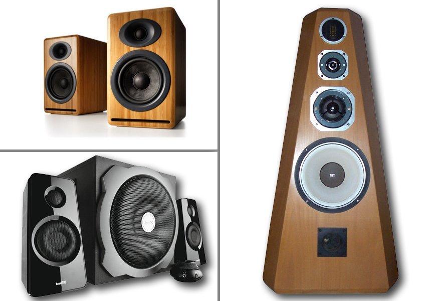 Огромный выбор акустических систем