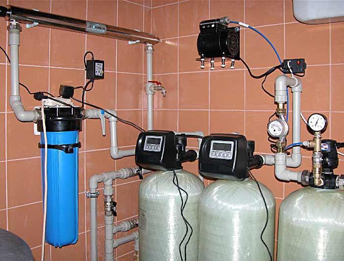 Виды и особенности систем очистки воды для частного дома