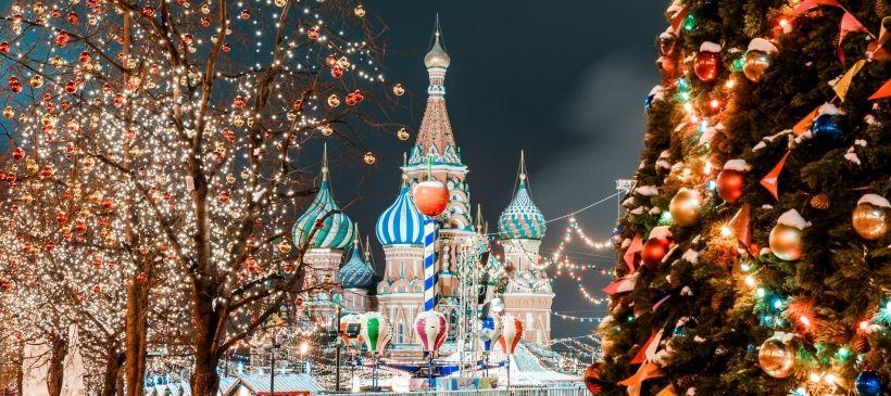 Где встретить Новый год в Москве?