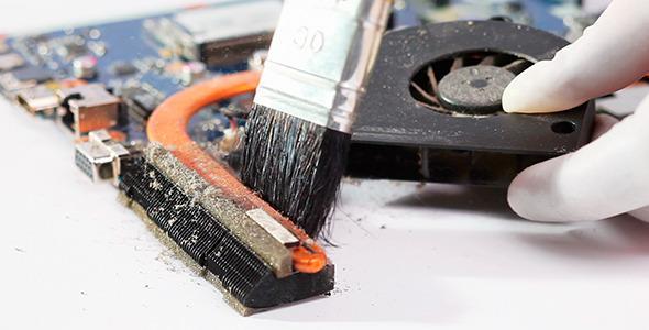 Качественная чистка и ремонт ноутбуков