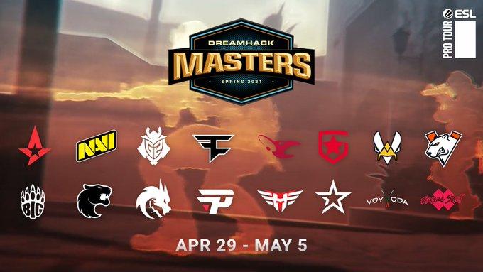 Итоги соревнований в онлайн-формате c компанией Dreamhack Masters