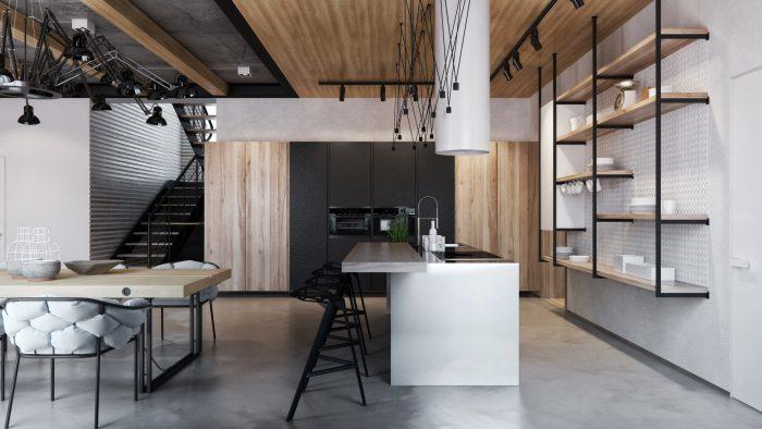 Мебель из дерева и металла для дома вашей мечты