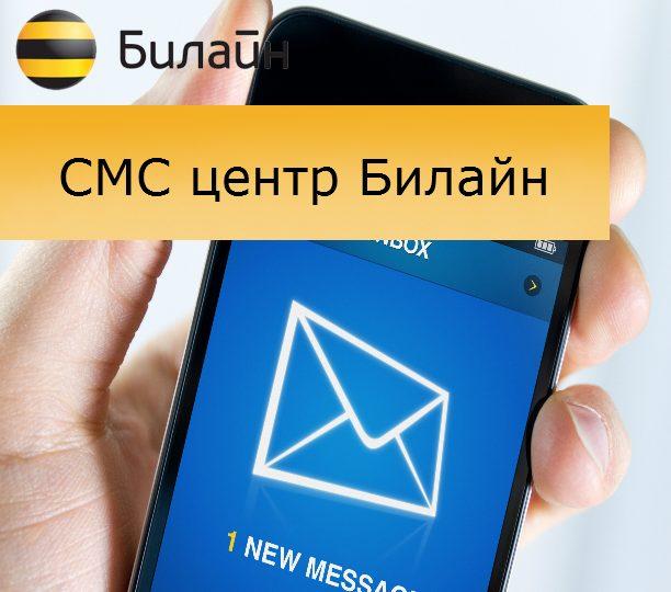 Рекомендации по настройке SMS-центра Билайн